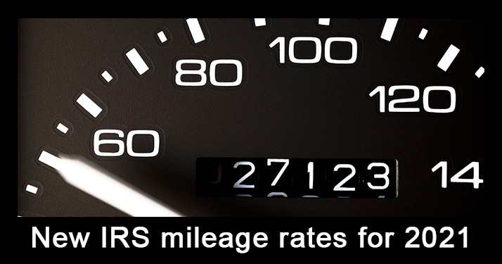 Standard Mileage Rates for 2021